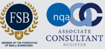 Member of the Federation of small businesses | Associate Consultant Register